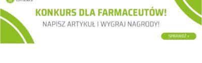 Konkurs na artykuł o tematyce farmacji szpitalnej