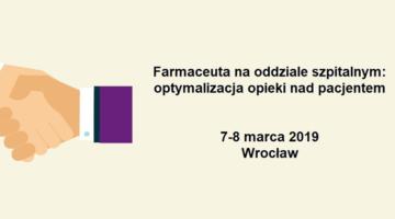 AptekaSzpitalna.pl patronem medialnym konferencji z farmacji klinicznej!