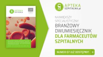 Najnowszy numer czasopisma branżowego dla farmaceutów szpitalnych - AptekaSzpitalna.pl cz. I