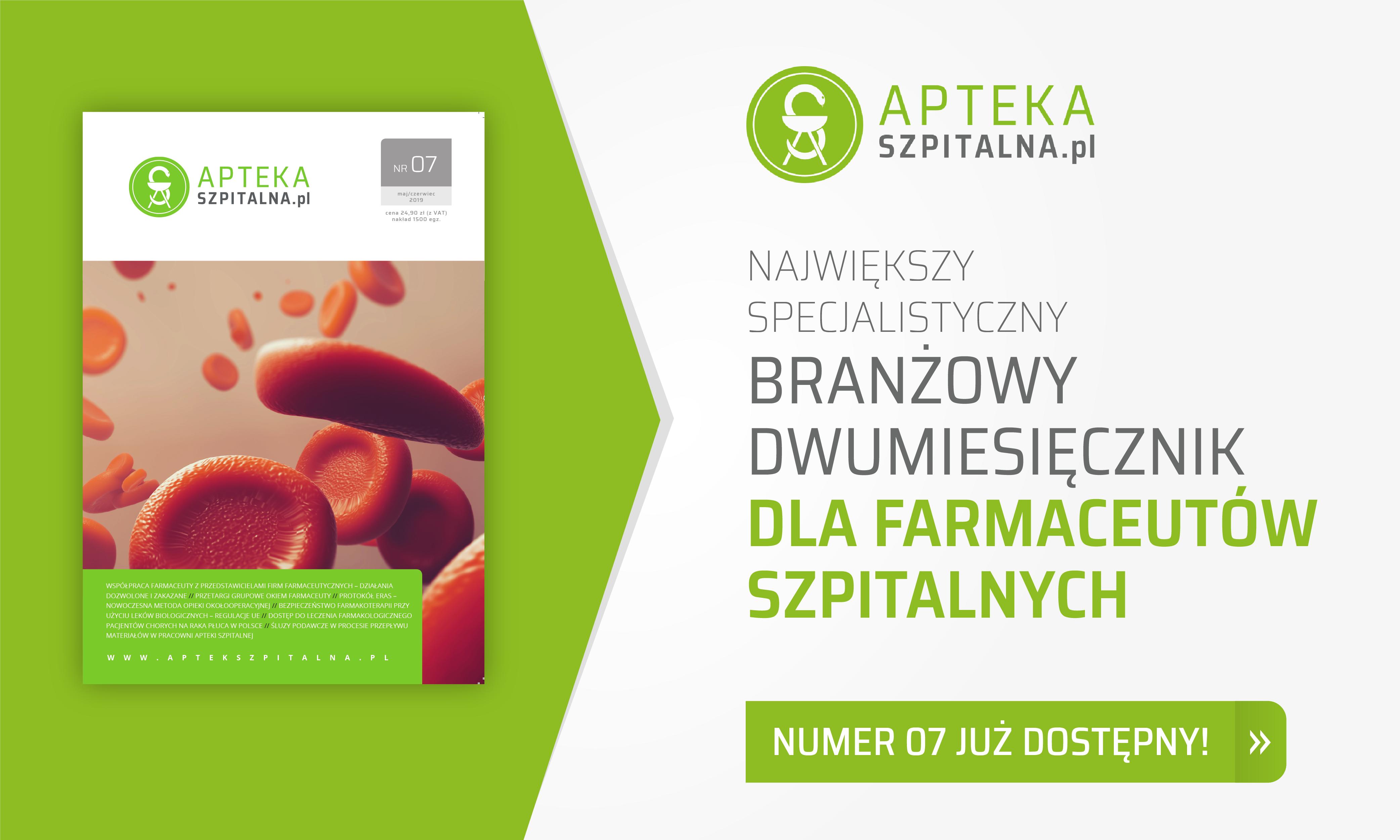 numer 07 gazety AptekaSzpitalna.pl