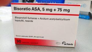 Główny Inspektorat Farmaceutyczny otrzymał od pełnomocnika firmy Actavis wniosek o wycofanie z obrotu serii leku Bisoratio ASA (5 mg + 75 mg) (fot. Shutterstock).